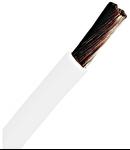 Conductor flexibil cu izolaţie din PVC H07V-K 4mm² alb