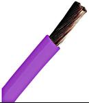 Conductor flexibil cu izolaţie din PVC H07V-K 4mm²  violet