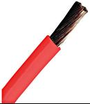 Conductor flexibil cu izolaţie din PVC H07V-K 4mm²  rosu