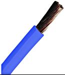 Conductor flexibil cu izolaţie din PVC H07V-K 4mm²albastru