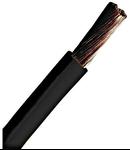 Conductor flexibil cu izolaţie din PVC H07V-K 4mm² negru