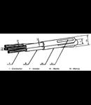 Cablu subteran tip ENEL ARE4 3x150+95  06/1kv -joasa tensiune