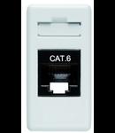 PRIZA DE DATE 1M RJ45 FTP CAT6 ALB SYSTEM