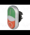 216700 - Buton comanda dublu,indicator luminos