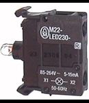 216567 - Element cu LED230V,rosu, spate