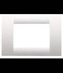 Placa ornament alb 12 module