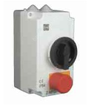248385 - Cutie IP54 pentru  Z-MS,  conector N + buton emergenta