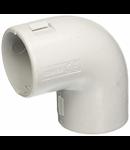 COT  PVC 32MM GRI SCURT 90 GRADE