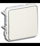 INTRERUPATOR SIMPLU CAP-SCARA 10A IP55 ALB PLEXO