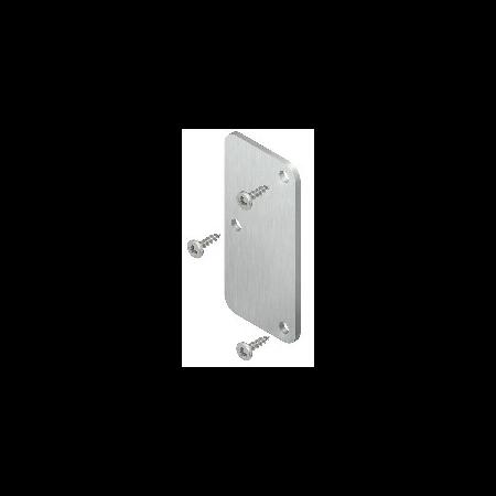 Capac terminal pentru canal din aluminiu 65x65  Fintech