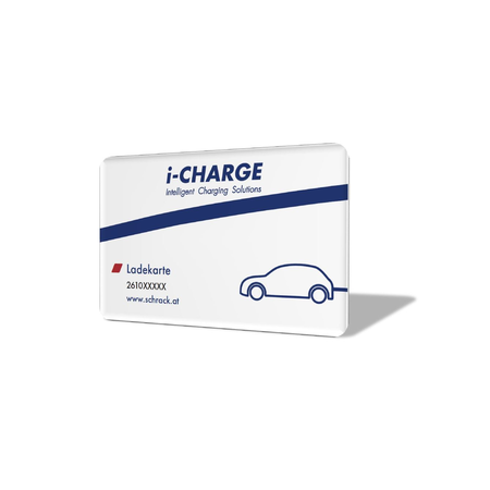 Card incarcare RFID i-CHARGE Schrack