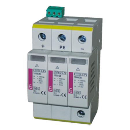 ETITEC S C Descarcatoare Tip2 modular, serie noua ETITEC S C 440/20 3+1 RC Eti