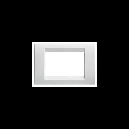 Placa ornament alb 4 module  Gewiss Virna Gewiss