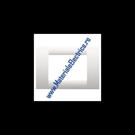 Placa ornament alb 12 module  Gewiss