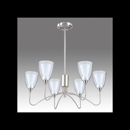 Lustra Camillo cu 6 becuri Brilux - Corpuri de iluminat Brilux