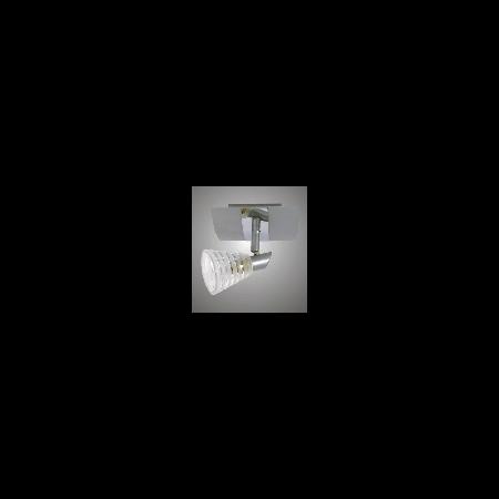 Aplica sau plafoniera Belinda 11 cu 1 bec - Brilux - crom satin Brilux
