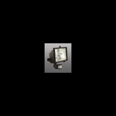 Proiector cu halogen s senzor de miscare 500w Negru Brilux Brilux