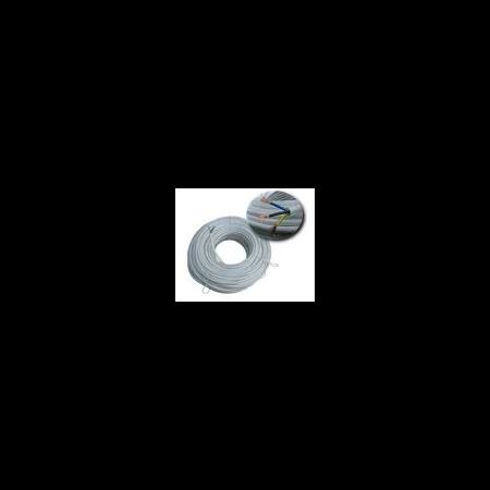 Cablu flexibil cupru 4x6 mm alb  Cavi