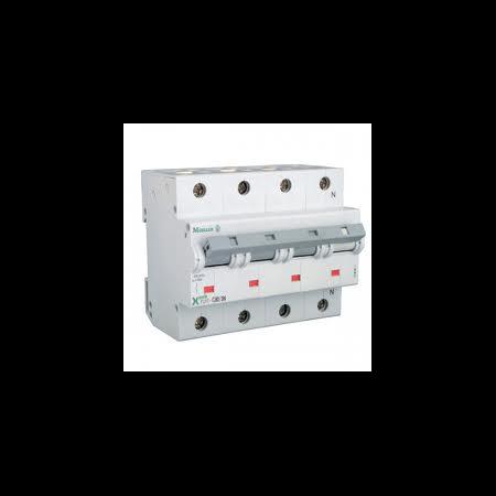 Siguranta automata 3P+N tetrapolara 125A 15ka  Moeller Eaton