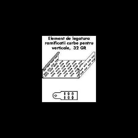 Element de lgatura IMBINARE VERTICALA 100MM Cavi