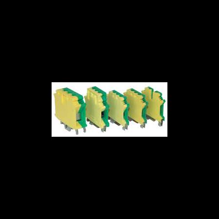 Clema sir 37A  galben verde Elmark