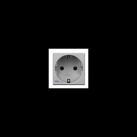 Priza schuko argintiu 16a Bticino Axolute Bticino
