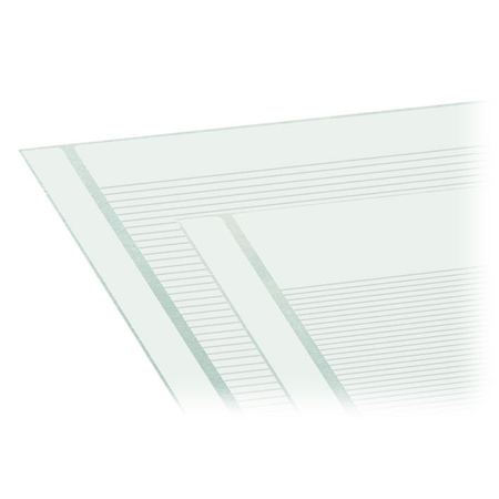 Marking strips; as a DIN A4 sheet; MARKED; 1-12 (300x); Height of marker strip: 2.3 mm/0.091 in; Strip length 182 mm; Horizontal marking; Self-adhesive; white Wago