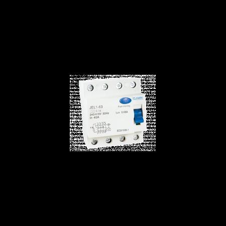 Intrerupator tetrapolar diferential 20A-300ma  Elmark