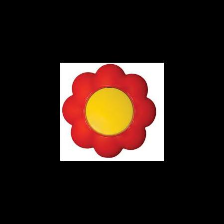 Intrerupator 16a galben-rosu floare  Metalka Majur