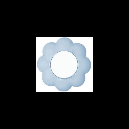 Intrerupator 16a alb-bleu floare Metalka Majur