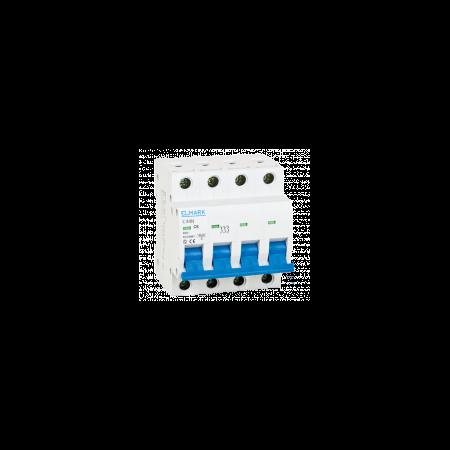 Siguranta automata tetrapolara 3P+N 32a 6ka C  Elmark