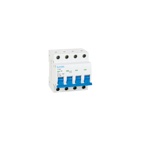 Siguranta automata tetrapolara 3P+N 63a 6ka C  Elmark