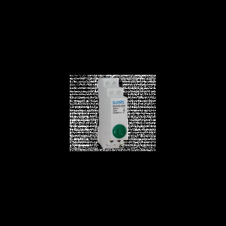 Lampa semnalizare pe sina verde 230v  Elmark