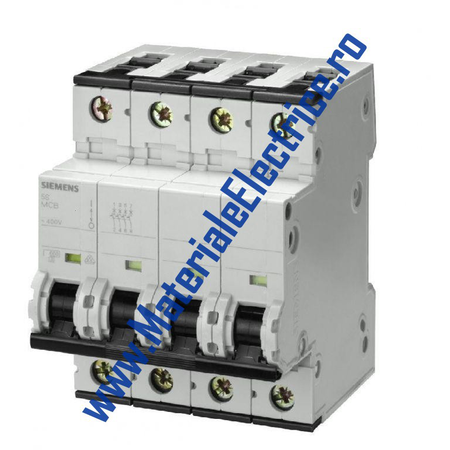 Siguranta automata tetrapolara 20A 6ka C Siemens Siemens