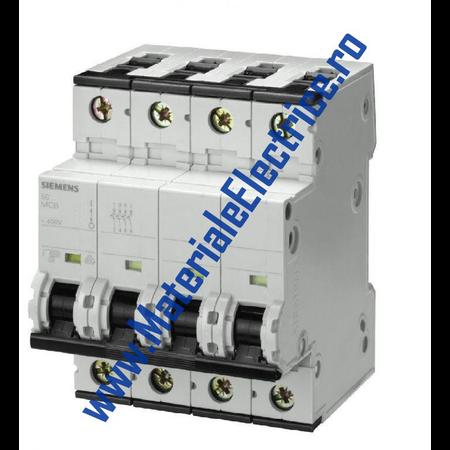 Siguranta automata tetrapolara 50A 6ka C Siemens Siemens