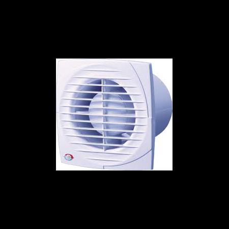Ventilator axial 125mm cu timmer , intrerupator pe fir si senzor de umiditate  Vents Vents