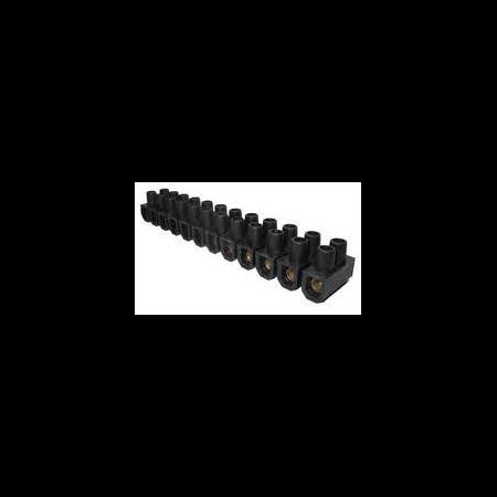 Regleta trecere  4mm negru Scame Scame