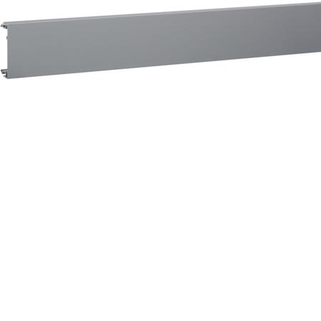Capac pentru Canal cablu metalic, aluminiu anodizat 45x45 Hager