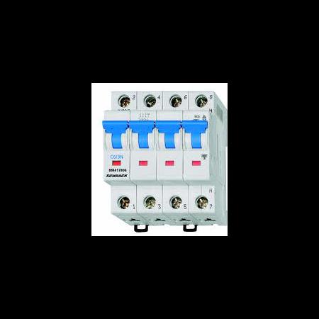 Siguranta automata tetrapolara 25A 4.5ka C Schrack Schrack