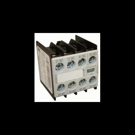 Bloc contacte aux.2ND+2NI  pentru contactori Schrack marimea 0-12 Schrack