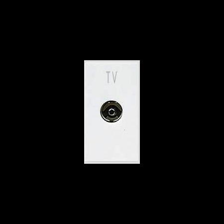 Priza tv  directa 1 modul alba  Ave 45  Ave