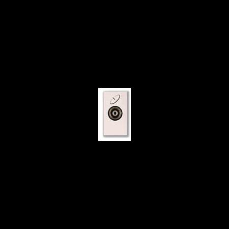 Priza tv satelit mama directa 1 modul alba  Ave 45  Ave