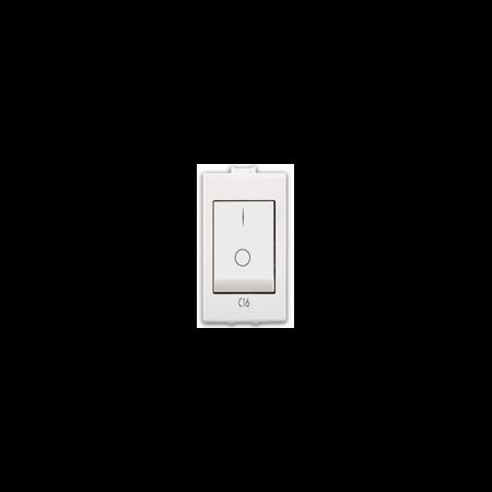 Siguranta automata 6A  1P+N 1 modul alb Ave 45  Ave