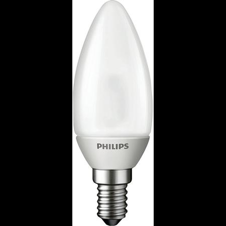 Bec - Novallu. 2W E14 2700K 230V B35 FR Philips