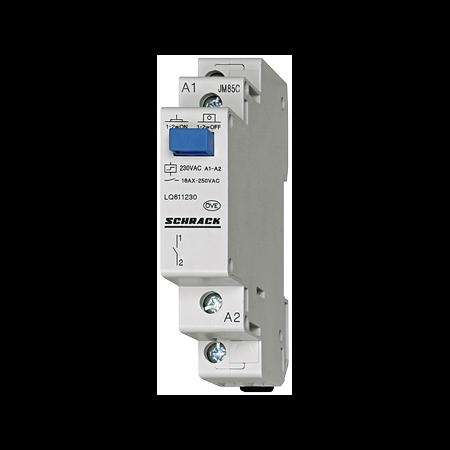 Teleruptor 1ND 24VAC/12DC Schrack  Schrack