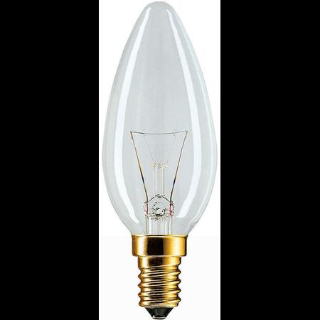BEC INCANDESCENT - Standard 40W E27 B35 CL Philips