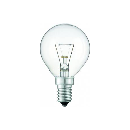 BEC INCANDESCENT - Standard 15W E14 P45 CL Philips