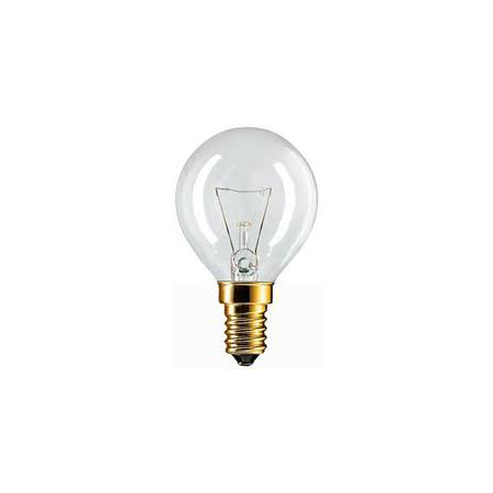 BEC INCANDESCENT - Standard 40W E14 P45 CL Philips