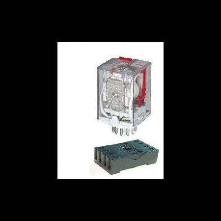 RELEU INDUSTRIAL 60.13 24VDC 3NO+3NC Elmark