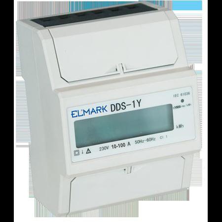 Contor monofazat  10/100A DDS-1Y-100  Elmark